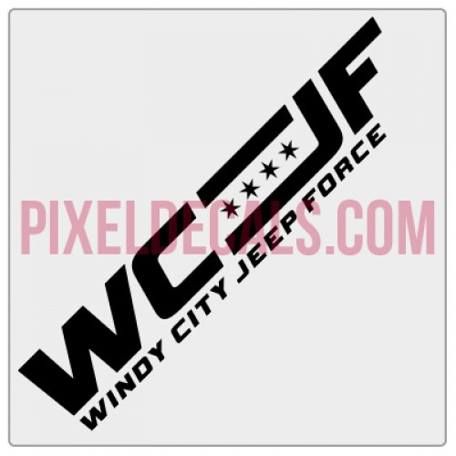Windy City Jp Force Banner Decal