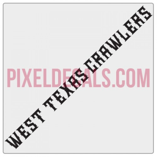 West Texas Crawlers Small Banner